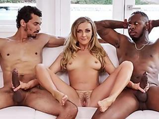 Big Chocolate Dicks In Kinky Blonde Tutor