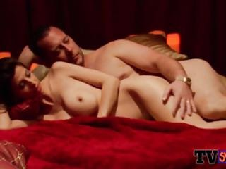 Dark Couple Heads To The Red Room For A Full Swap With Other Swingers