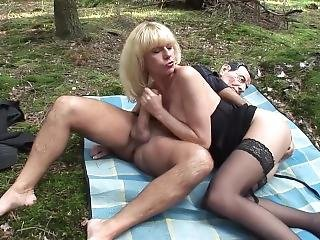 Outdoor Masque Anal