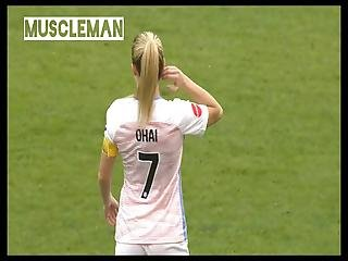Booty Show Soccer Girl