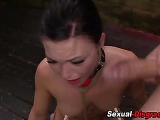 Slave Hardcore Throated