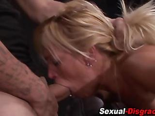 Submissive Slave Fucked