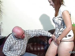 Old Grandfather Seduce Not Grand Daughter To First Fuck?from=video Promo