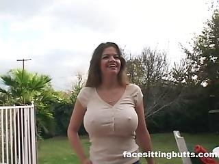 Fucking The Neighbor S Busty Wife While He S Working