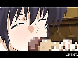 Hentai Maid Gives Bj And Gets Cunt Drilled