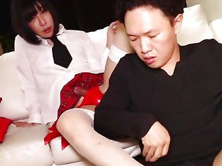 Japanese Newhalf Dilettante Sucked In Advance Of Anal