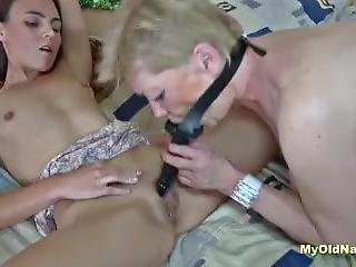 Samantha Has Fun With Toys And Teen