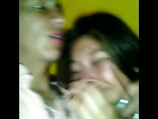 Rico Beso Con Sabor A Creampie Anal Entre Alexxx Torre$$$ Y Jennifer Quito