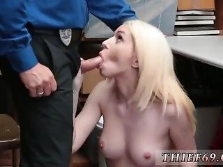 Blonde Girl Solo Attempted Thieft