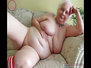 amateur, abuela, con cabello, latina, solo