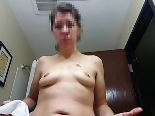 amateur, arsch, fetter arsch, brünette, milf, realität, kleine titten, solo, ehefrau