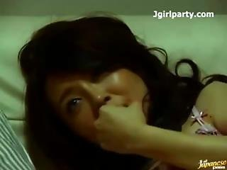 Japanese Amateur Babe Sex With Two Guys