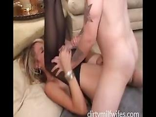 Hot Milf And Young Lover