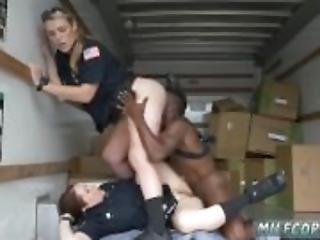 Hardcore anal brutal Black suspect taken on