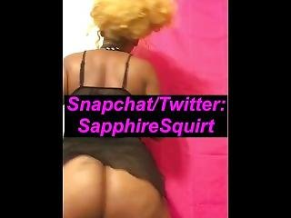 Big Booty Ig Model Twerking! Follow Her Ig @sapphire.squirt