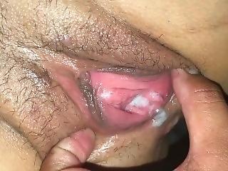 Dirty Slut Gets Creampied In My Backseat