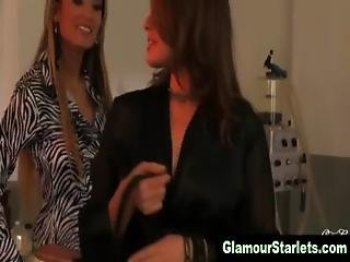 Classy Glam Fetish Lesbos