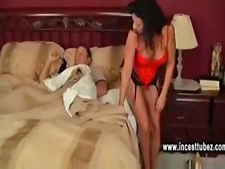 Mom And Son Morning Fucking In Family Bedroom