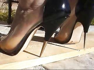 Femdom, Fetish, Foot, Heels, Pierced