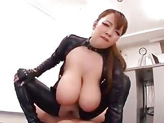 Huge Natural Tits In Latex Suit Hitomi Tanaka
