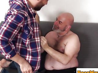 Pierced Bear Sam Dark Ass Drilling And Assfucking