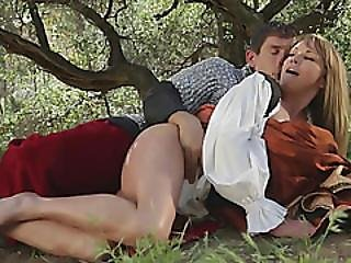 Sleeping Beauty Parody Blowjob Fucking Outdoor Big Tits