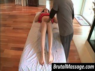 Brunette Siren Ally Style Getting Big Jugs Massaged