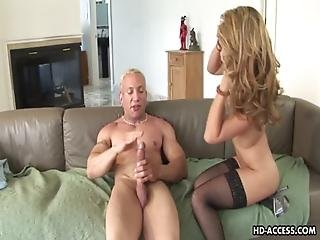 Tattooed Up Hot Bitch Rides The Splandid Cock