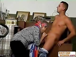 Fuck Hairy Granny No Condom