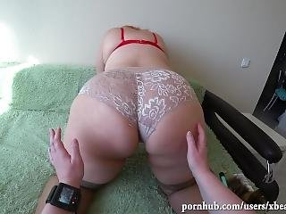 Milf Fucks A Big Juicy Ass Girlfriend. Pov