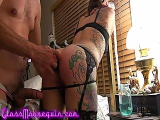Tied Whipped Ass Fucked Pussy Fucked And Creampied