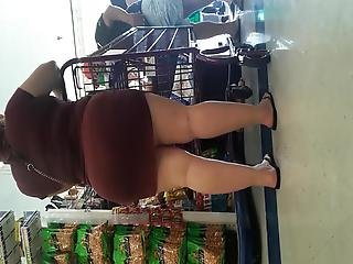 Short Mexican Milf With A Big Booty Prt2