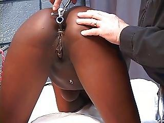 Basement, Bdsm, Black, Blowjob, Brunette, Dildo, Ebony, Interracial, Sex, Teen, Torture, Toys, Vibrator