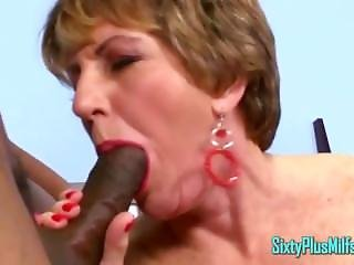 Two Dicks, One Granny Milf Bitch