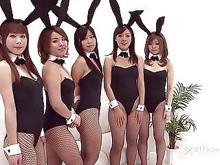 Japanese Bunny Orgy Uncensored Jav