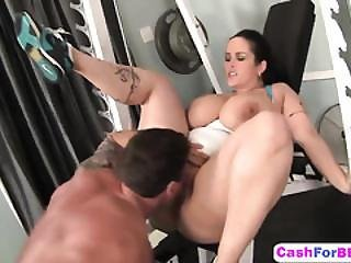 Busty Chunker Carmella Bing Gets Wet Pussy Railed By Muscled Guy