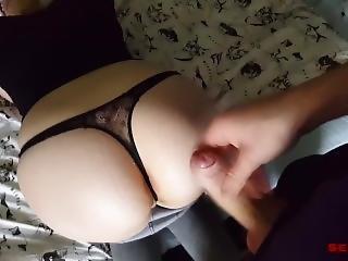Swedish Teen Victoria Gets Cum All Over Big Ass