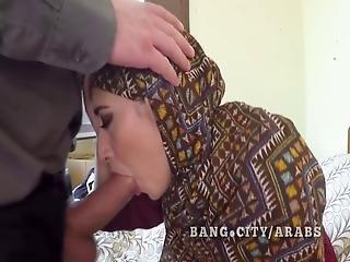Arab Woman In Hijab Big Cock Sucking