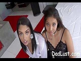 Hot Sisters Seduced And Fucked By Stepdad - Dadlust.com