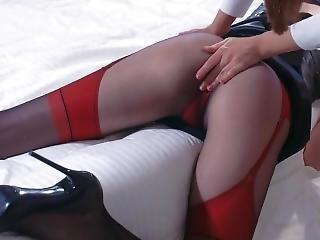 Two Stocking, Two Pantyhose, Two Girls