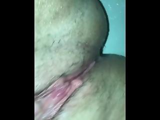 amatoriale, fetish, masturbazione, punto di vista, fica, doccia