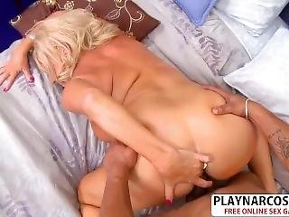 Hot Mommy Mandi Mc Graw Fucking Hard Tender Stepson