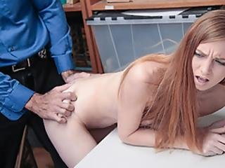 Ava Had No Choice But To Bang With The Officer To Avoid Jail