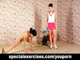 Submissive Teen Girl Gets Training
