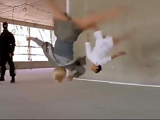 Acrobatic Girls Defeat Men Compilation