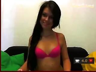 Girl Fuck Yourself On Webcam