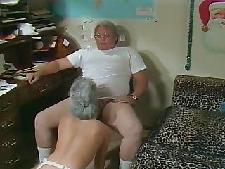 Groepsex, Harig, Milf, Sex, Kous, Vintage, Kerst