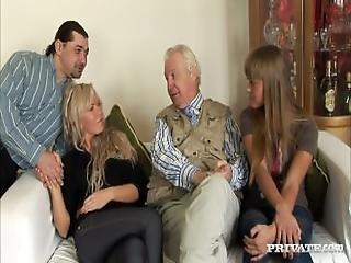 Sweet Russian Teens Suck Mature Cock
