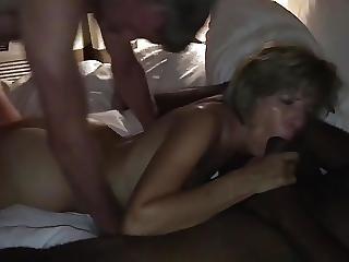 Amateurhorny Sexy Milf Fucked Hard By Two Horny Men