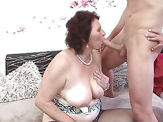 Mature Mother Spoiling A Young Son